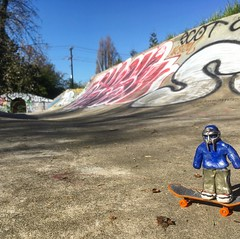 @TheRingOfDoom Gets His Skate On In South Park, Seattle
