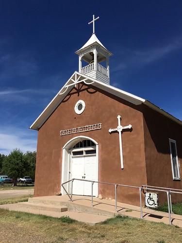 Sacred Heart Catholic Church, Watros, NM by Barbara Wright