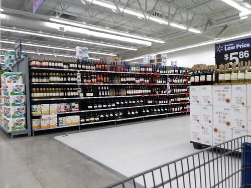 walmart supercenter murdock store portcharlotte fl florida remodel wine grocery