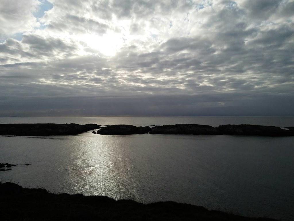 Vistas espectaculares para finalizar el miércoles. #nofilter #sinfiltros #Coruña #paseo #ocean #sunset #phonephoto #photography