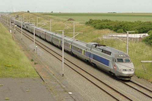 Belgian High Speed Lines - Two coupled TGV Réseau.