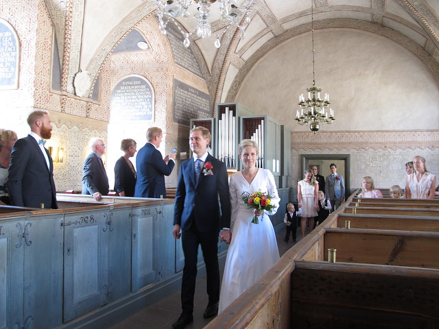 maria's and markus' wedding, kalmar slott, kalmar