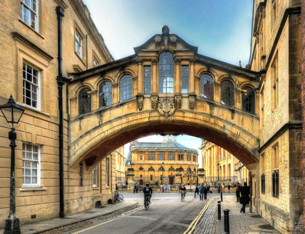 The Bridge of Sighs, Oxford. Credit Baz Richardson