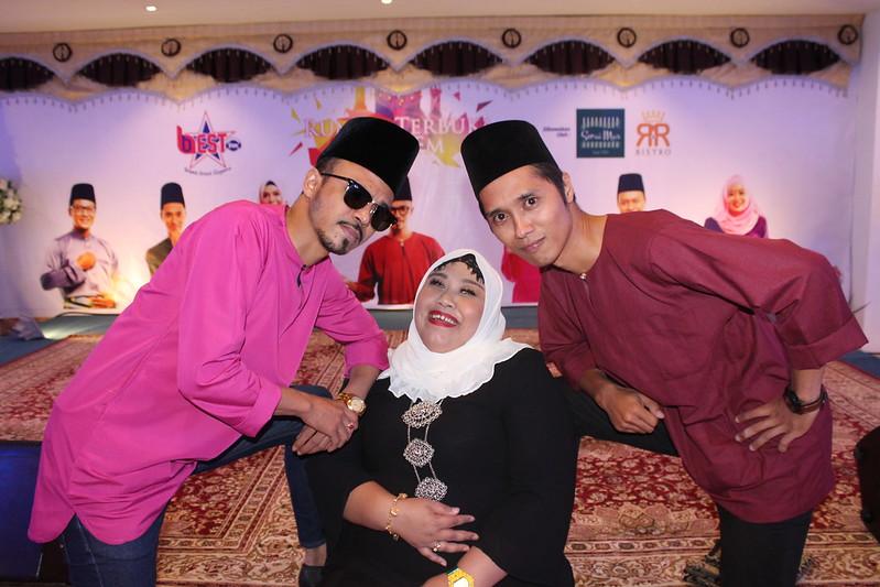 Ganding Baharu Best Pagi, Along Cham, Kak Girl dan Zairi