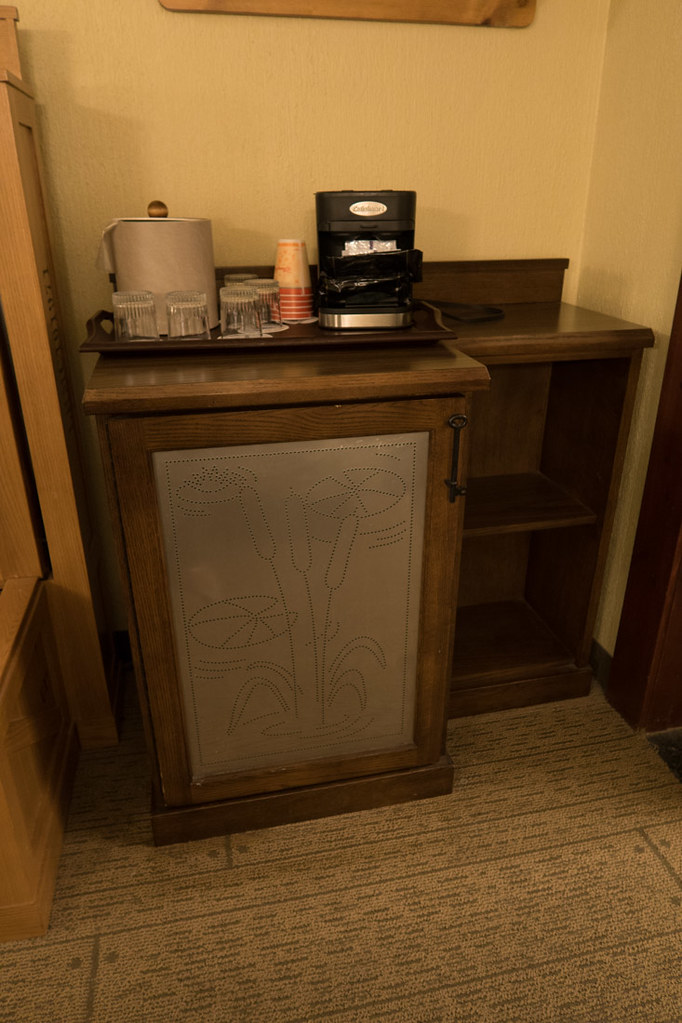 Coffee area in room