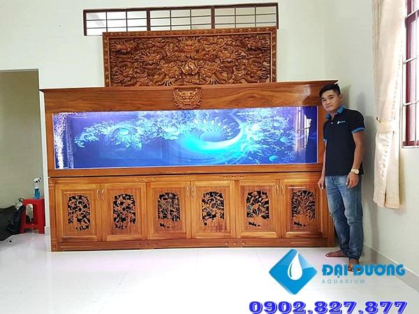 Hồ cá rồng chạm A.Bảo Vĩnh Long