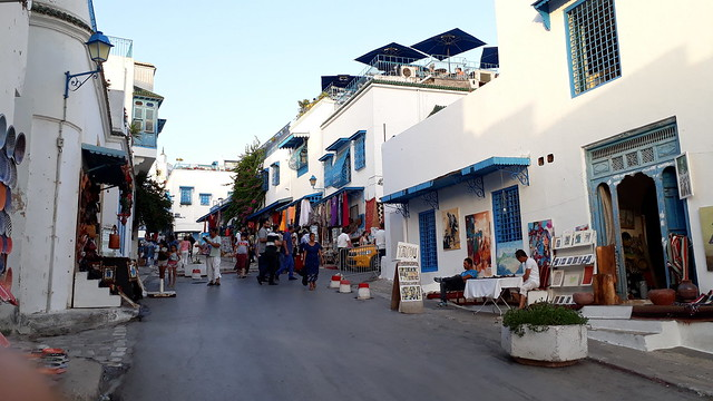 streets of Sidi Bou Said