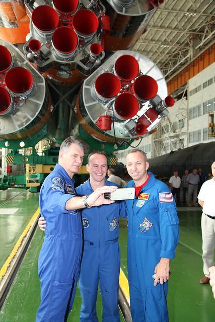 Soyuz selfie!