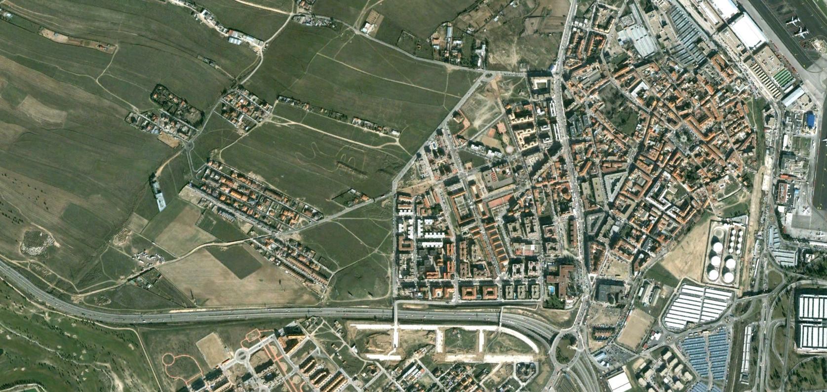 barajas, madrid, aeropuerto chiste chiste madrid barajas, antes, urbanismo, planeamiento, urbano, desastre, urbanístico, construcción