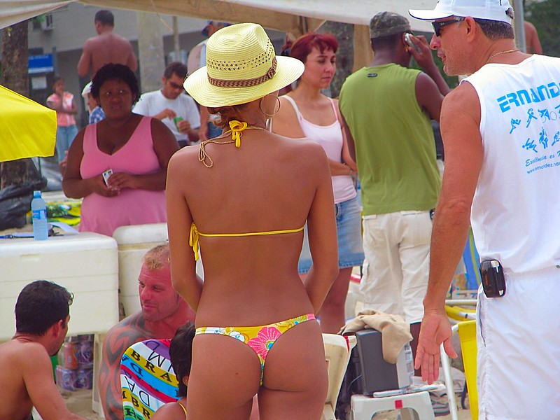 Copacabana beautiful beach babes