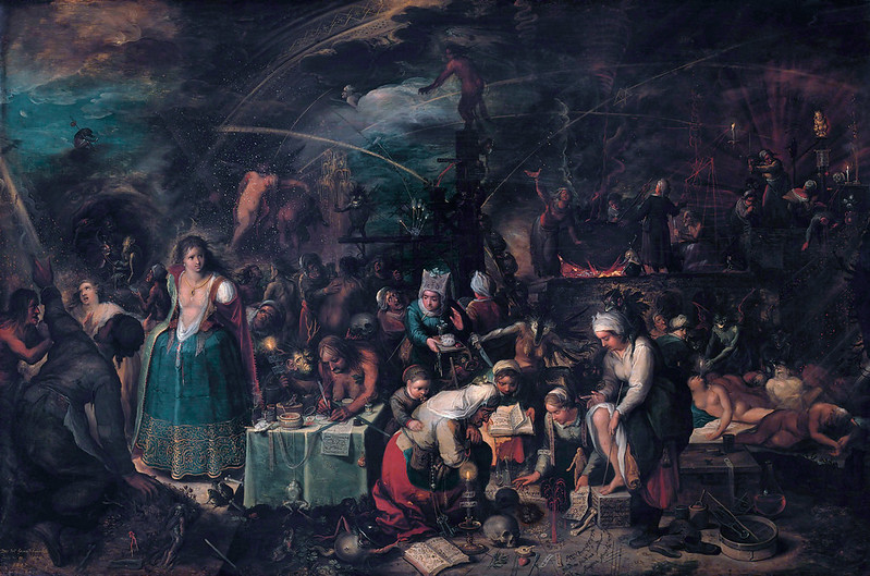 The Witches' Sabbath, by Frans Francken  II