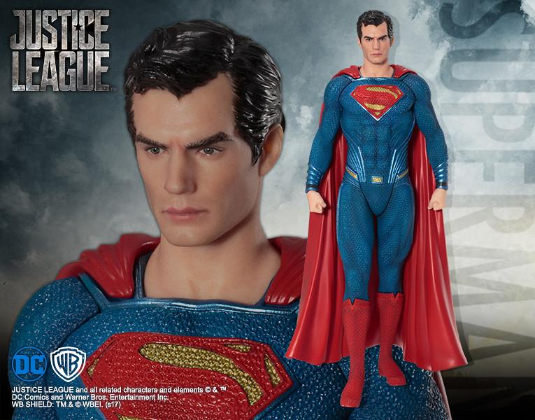 壽屋 ARTFX+ 系列【正義聯盟:超人】JUSTICE LEAGUE スーパーマン 1/10 比例全身雕像作品
