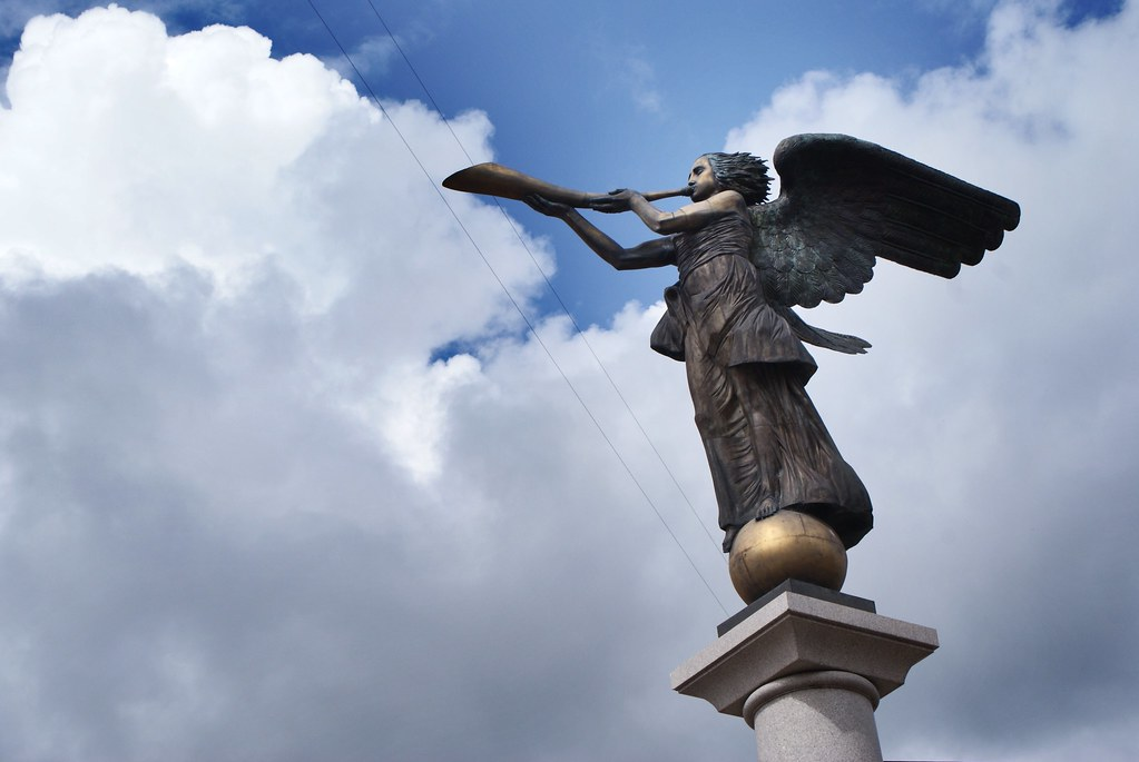 L'ange d'Uzupis à Vilnius