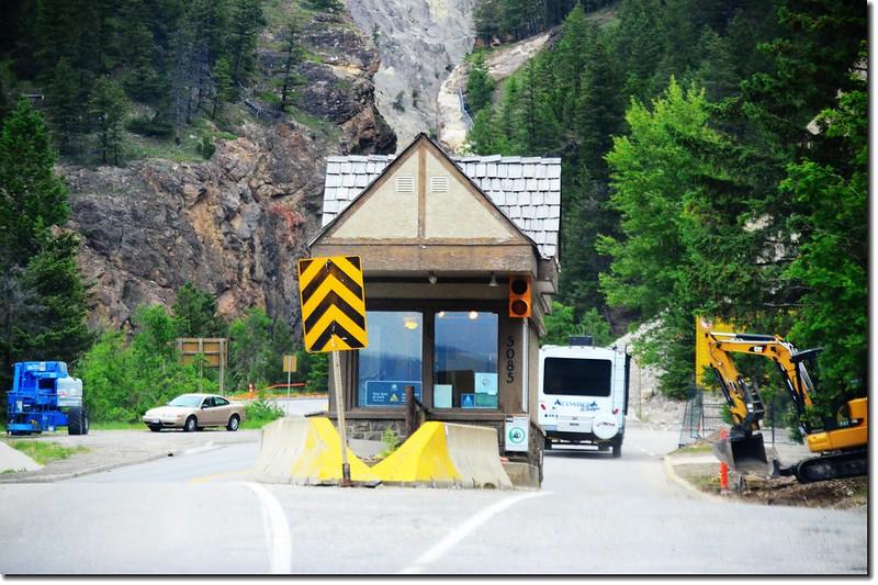 Kootenay National Park Entrance