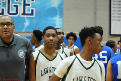 PSAL Boys A Basketball Semifinal Brandeis v. High School for Law
