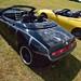 Black Alfa Spider - custom paint job