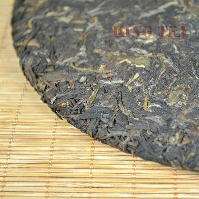 Free Shipping 2007 TAE TEA DaYi 7432 Beeng Cake Bing 357g YunNan MengHai Organic Pu'er Pu'erh Puerh Raw Tea Sheng Cha