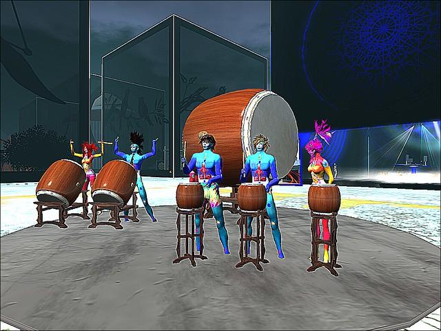 Burning Man - Deep Hole - Drum