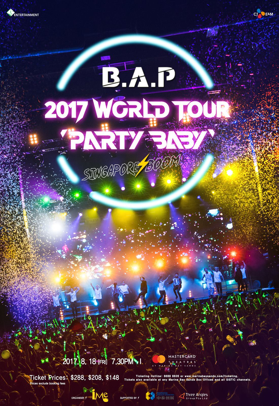 BAP World Tour in Singapore