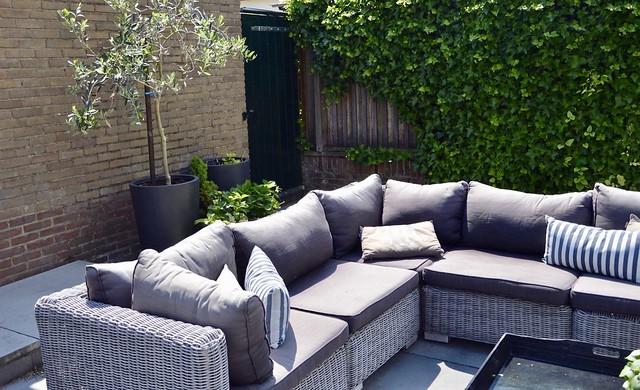 Loungeset landelijke tuin