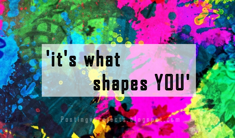 IT'S WHAT SHAPES YOU