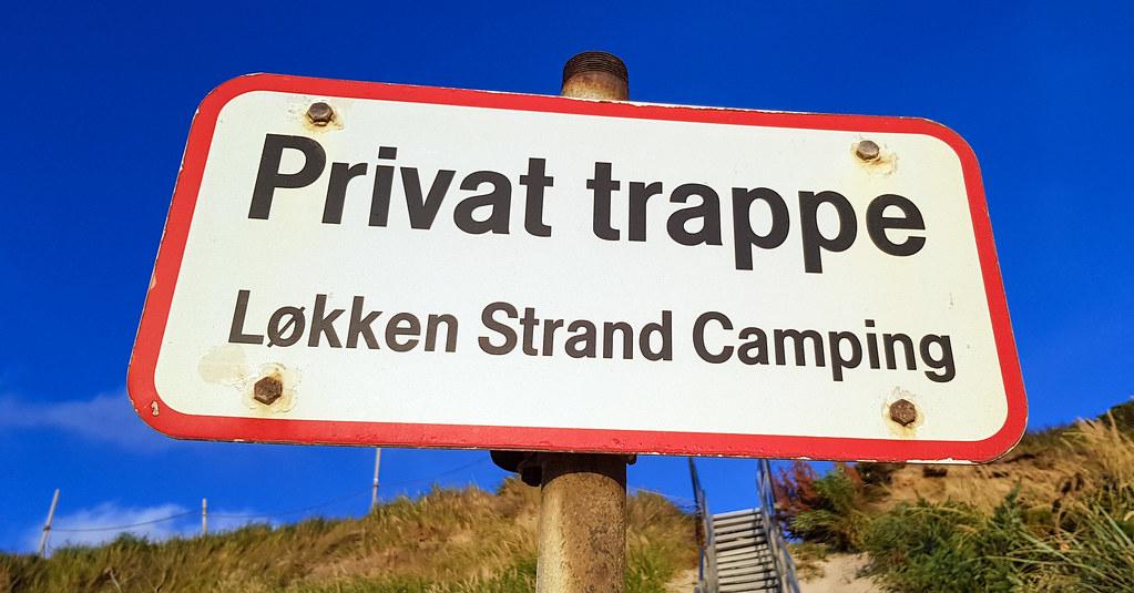 Privat trappe