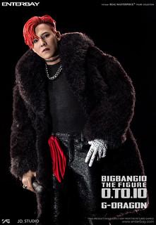【完整官圖、販售資訊更新】ENTERBAY – BIGBANG 10 週年紀念系列【權志龍 G-Dragon】BANG BANG BANG Ver. 1/6 比例人偶作品