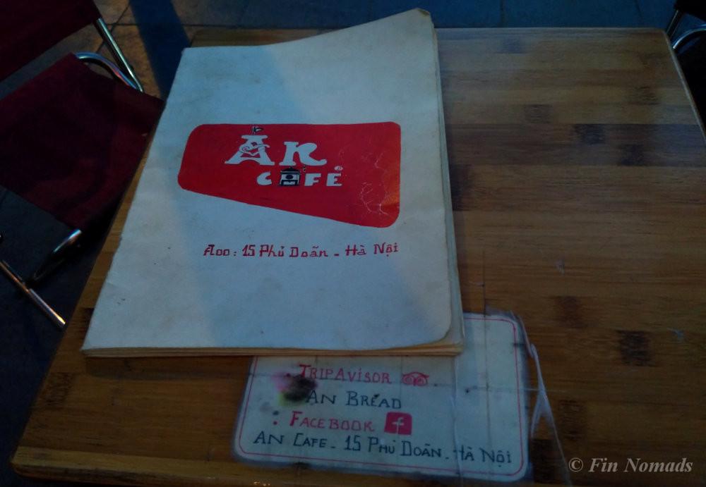 An cafe hanoi