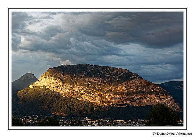 Coucher de soleil en Chartreuse