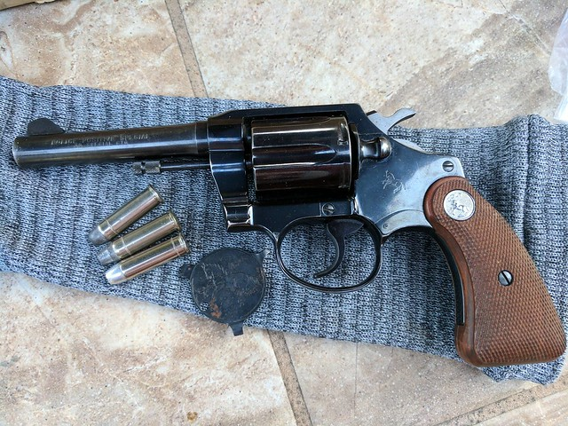 Bought my first Colt Revolver! 1964 Police Positive Special [Archive