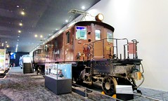 EF52 electric locomotive built in 1928 at the Kyoto Railway Museum 8545