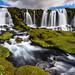 Blákvíslarfoss - Iceland by Arnar Bergur