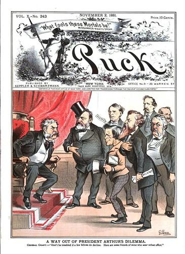 way out of president arthur's dilemma, a (1881)
