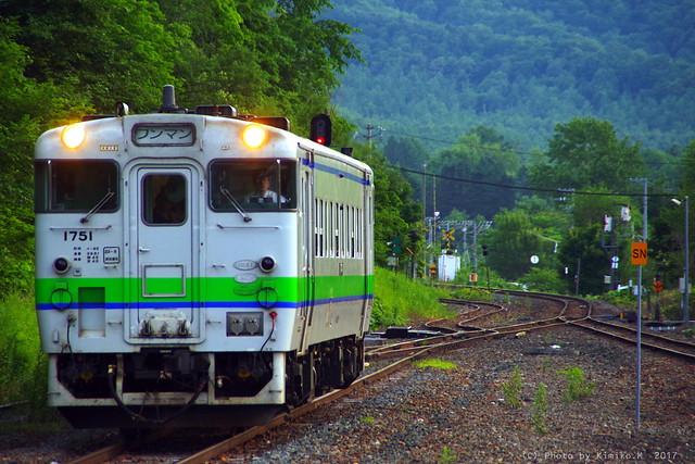 東鹿越駅、最後の夏②
