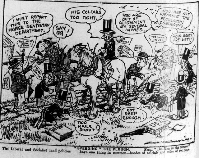 Liberal Socialist farming spoof - 13 Oct 1926