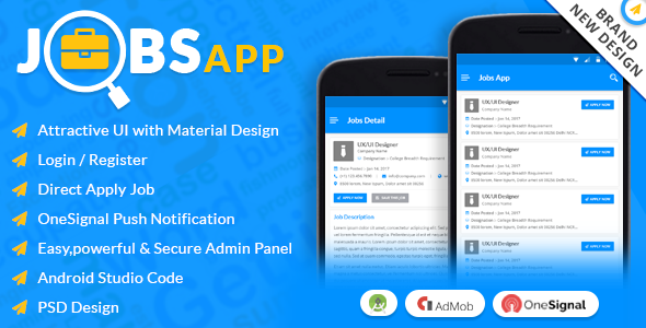 Jobs App – All Your Jobs in One Click
