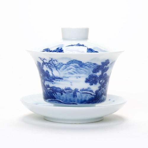 Gaiwan Blue China de Ye Zhuan BC-1