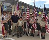 Congressman Sessions with Boy Scouts at the 4th of July Parade