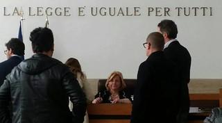 La giudice di pace Tiziana Gigantesco