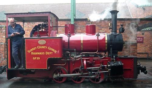 'Surrey County Council GP39' 0-6-0WT at the 'Statfold Barn Railway' on 'Dennis Basford's railsroadsrunways.blogspot.co.uk