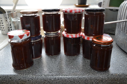 rhubarb and gooseberry jam July 17 (2)