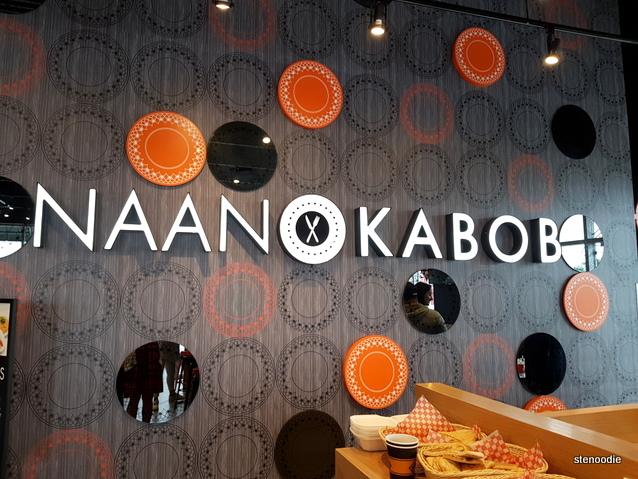 Naan & Kabob sign
