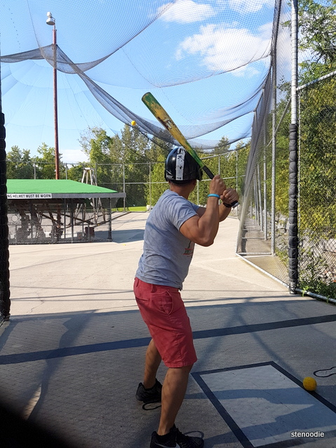 Timber Creek Golf batting cage