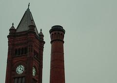 Clock Tower in Duluth, Minnesota