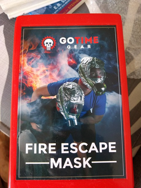 That skull logo wouldn't be my first choice for a fire escape mask.