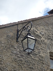 Rue du Trop Chaud, Flavigny-sur-Ozerain - lantern - Photo of Gissey-sous-Flavigny