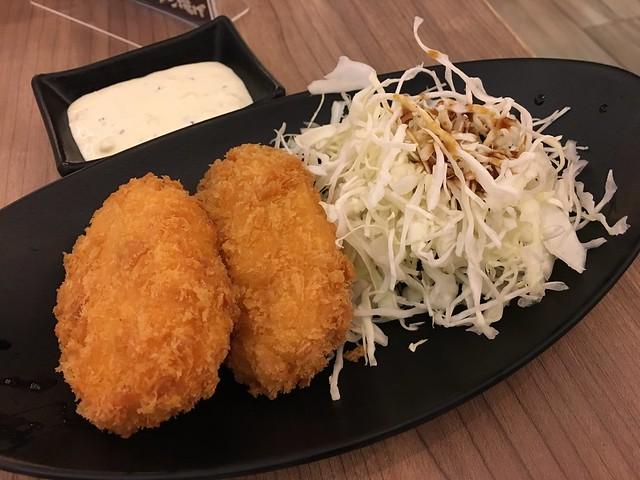 日式炸蝦排 (NTD$150)@大阪來的Izumi Curry南港CITYLINK店
