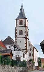L'église protestante d'Oberbronn - Photo of Uberach