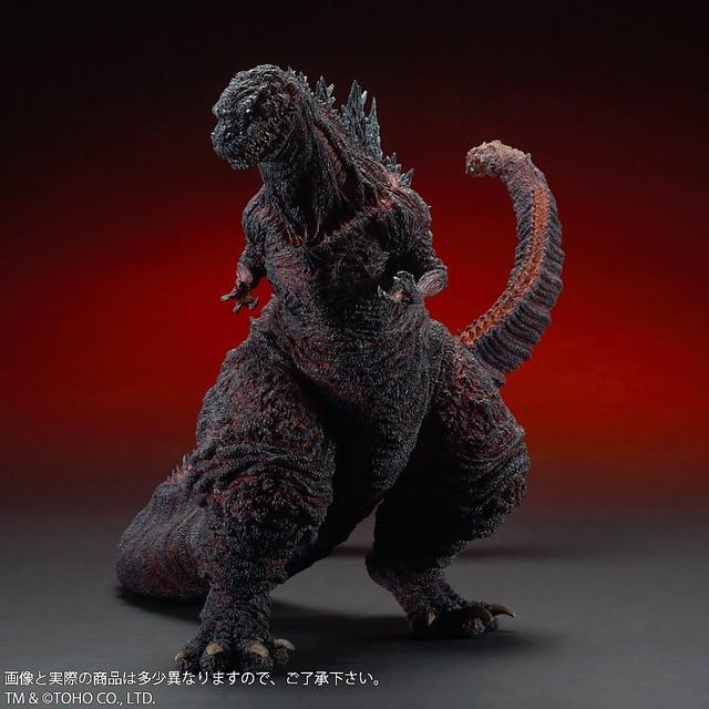 系列史上最巨大商品!X-PLUS Gigantic Series 《正宗哥吉拉》哥吉拉(ゴジラ) 2016 第4型態 一般版
