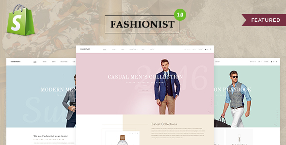 Fashionist – Shopify Theme
